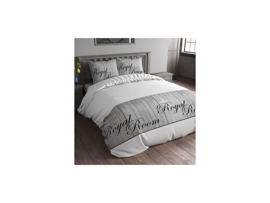 Povlečení na postel Slep Time 160x200 ROYAL ROOM WHITE