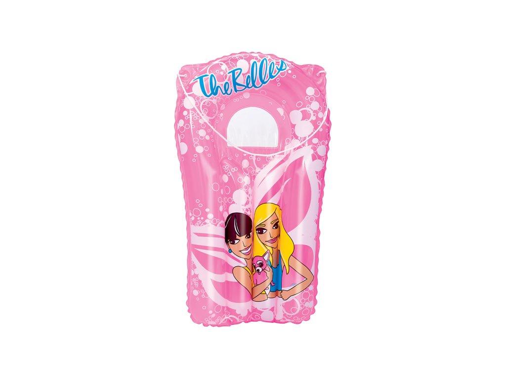 Dětské nafukovací lehátko s oknem růžové Bestway 42045