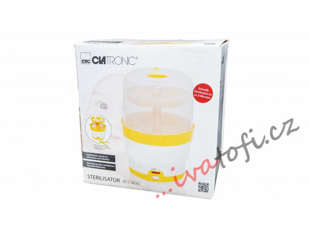 Sterilizátor kojeneckých lahví Clatronic BFS 3616