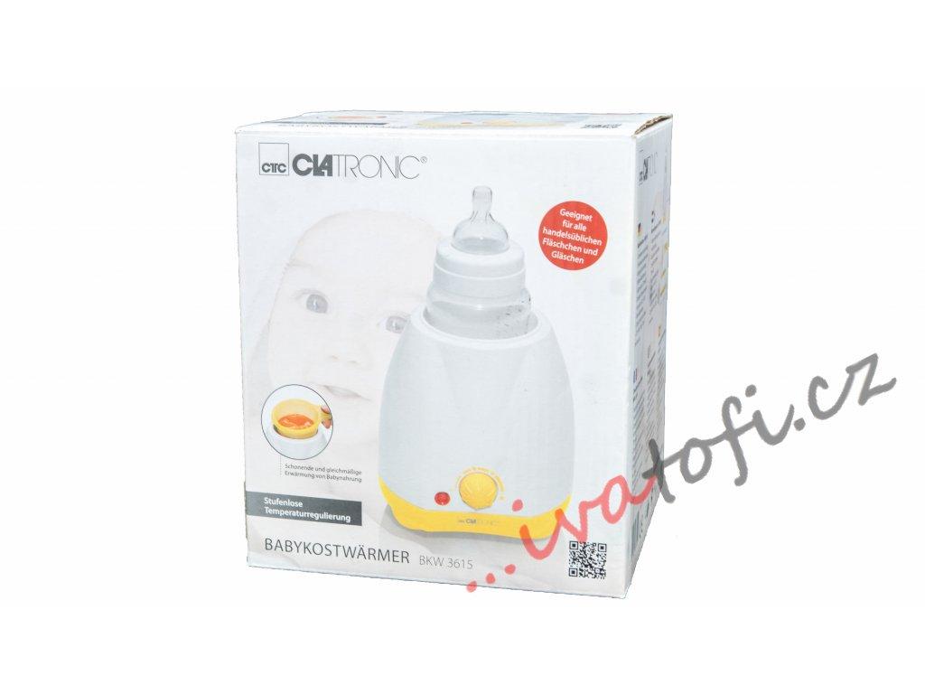 Ohřívač kojeneckých lahví Clatronic BKW 3615
