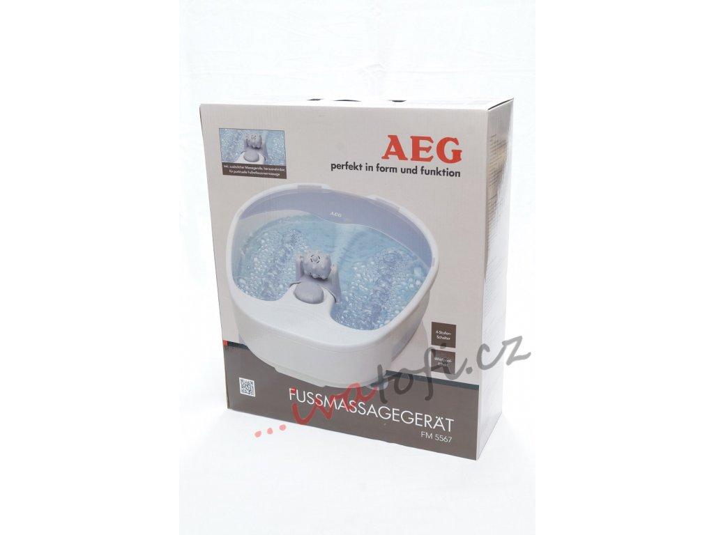 Whirlpool masáž na nohy AEG FM 5567