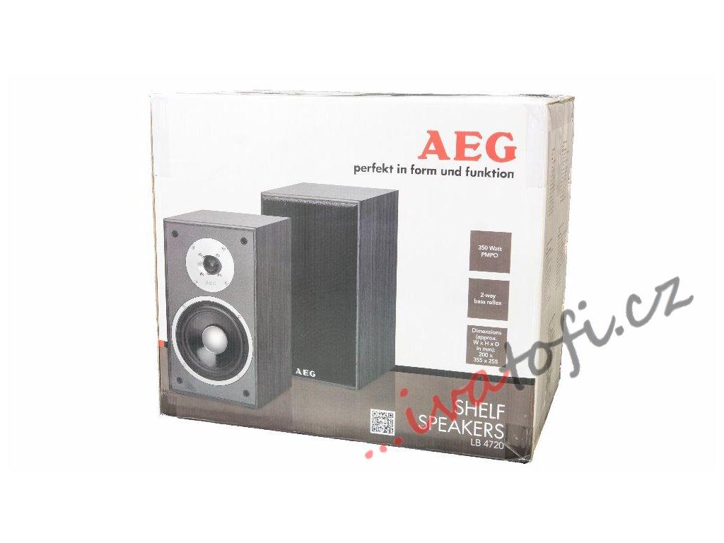 Regálové reproduktory AEG LB 4720 černé