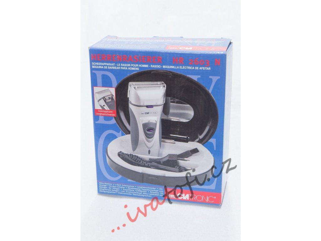 Pánský holící strojek CLATRONIC HR 2603 N