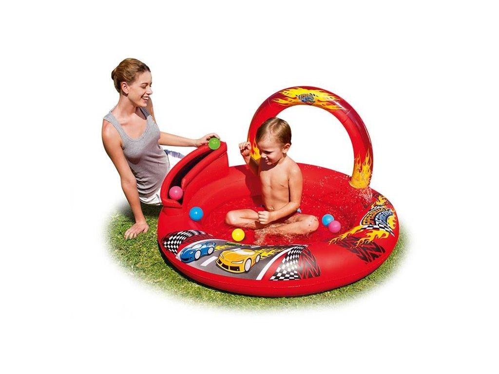 Nafukovací dětský bazének auta Bestway 52185 112cm