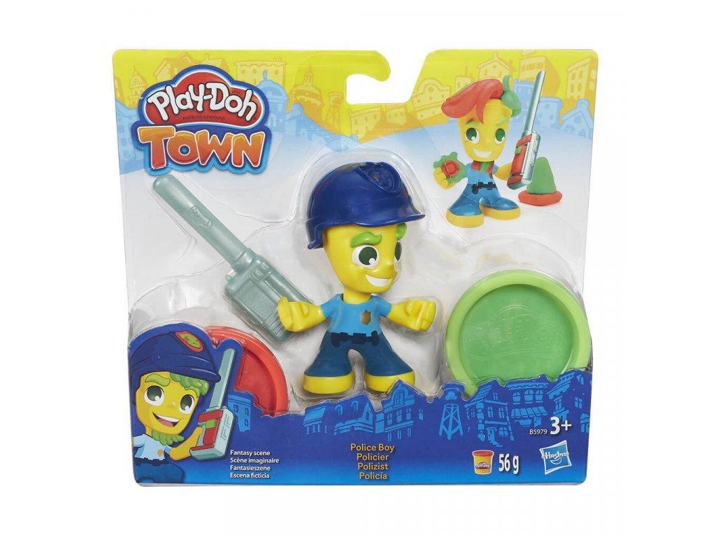 Play-Doh Hasbro TOWN figurka - policista