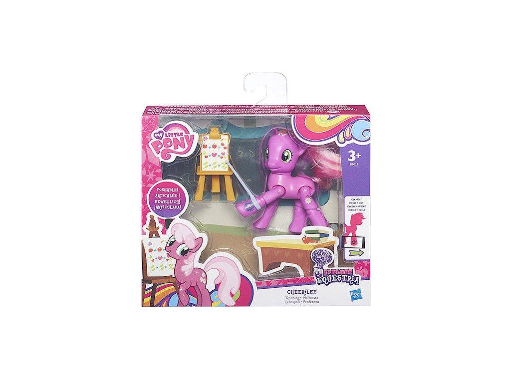 Herní set - My Little Pony Hasbro poník s kloubovými body Cheerilee