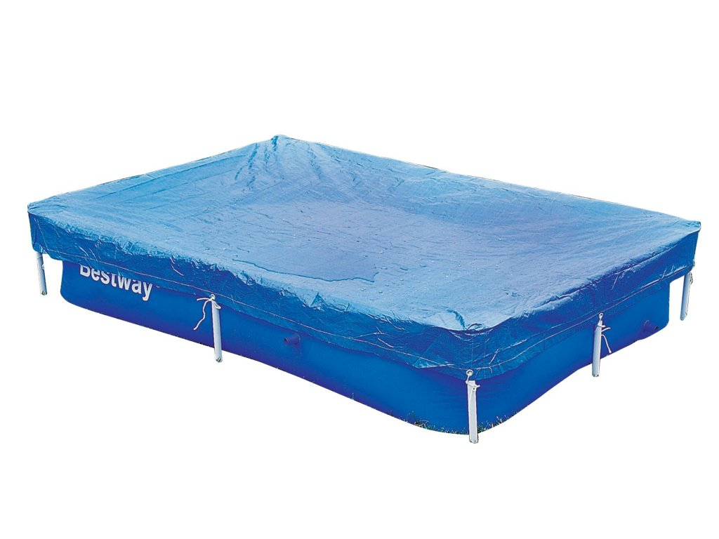 Bestway 58103 krycí plachta na bazén s konstrukcí 221x150x43 cm