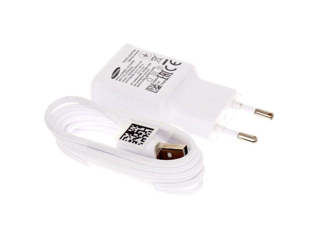Nabíječka Samsung EP-TA20EWE + kabel SAMSUNG ECB-DU4AWE