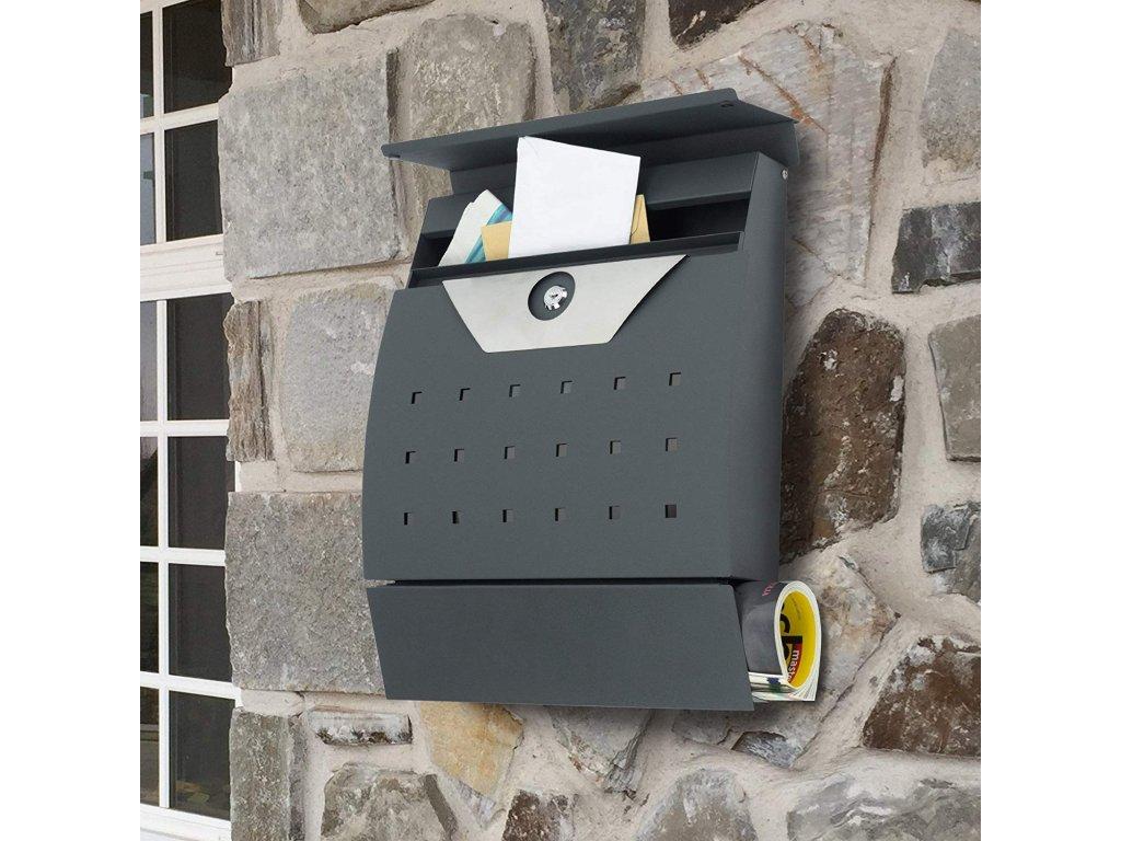 Poštovní schránka SN3650 anracit