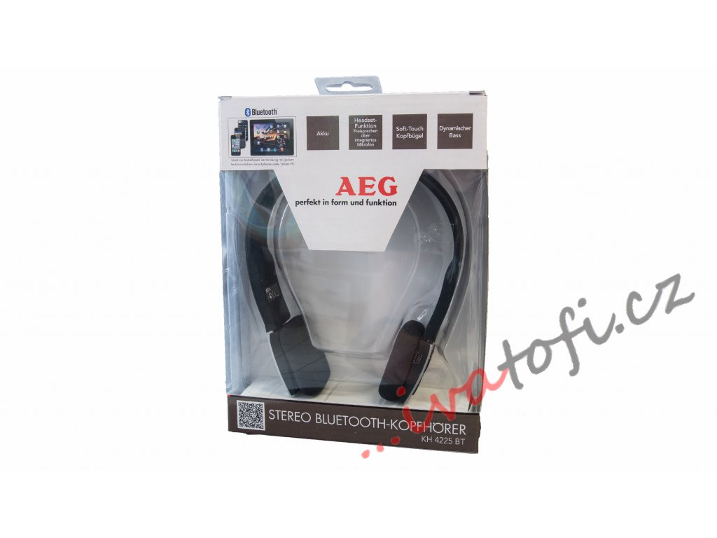 Sluchátka AEG KH 4225 černé