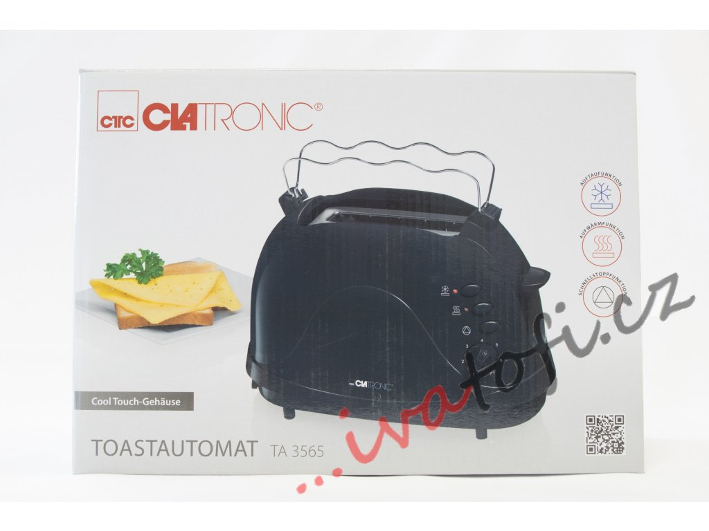 Topinkovač toaster Clatronic TA 3565 černý