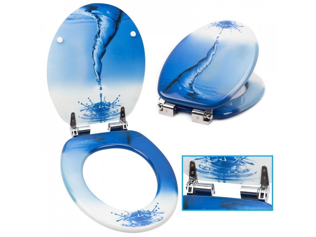 WC sedátko prkýnko s plynulým sklápěním SN 8990