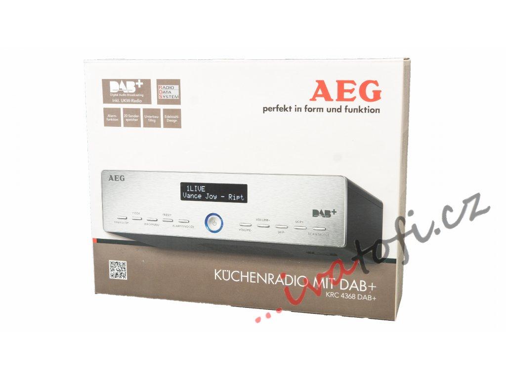 Kuchyňské rádio radiopřijímač pod linku AEG KRC 4368