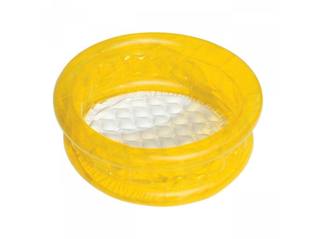 Dětský bazének 64x25 cm, měkké dno BESTWAY 51112 žlutý