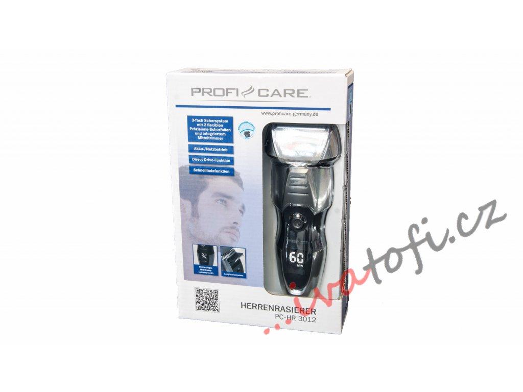 Pánský holicí strojek ProfiCare - HR 3012