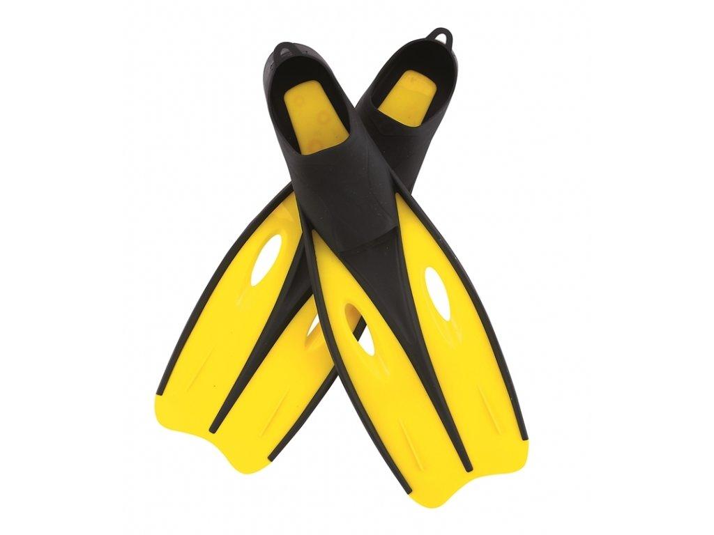 Ploutve do vody žluté Bestway 27024 vel.42-44