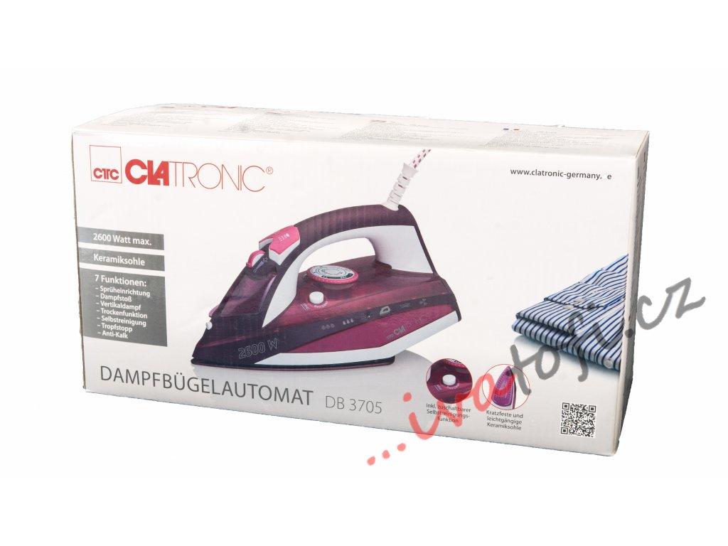 Napařovací žehlička Clatronic DB 3705