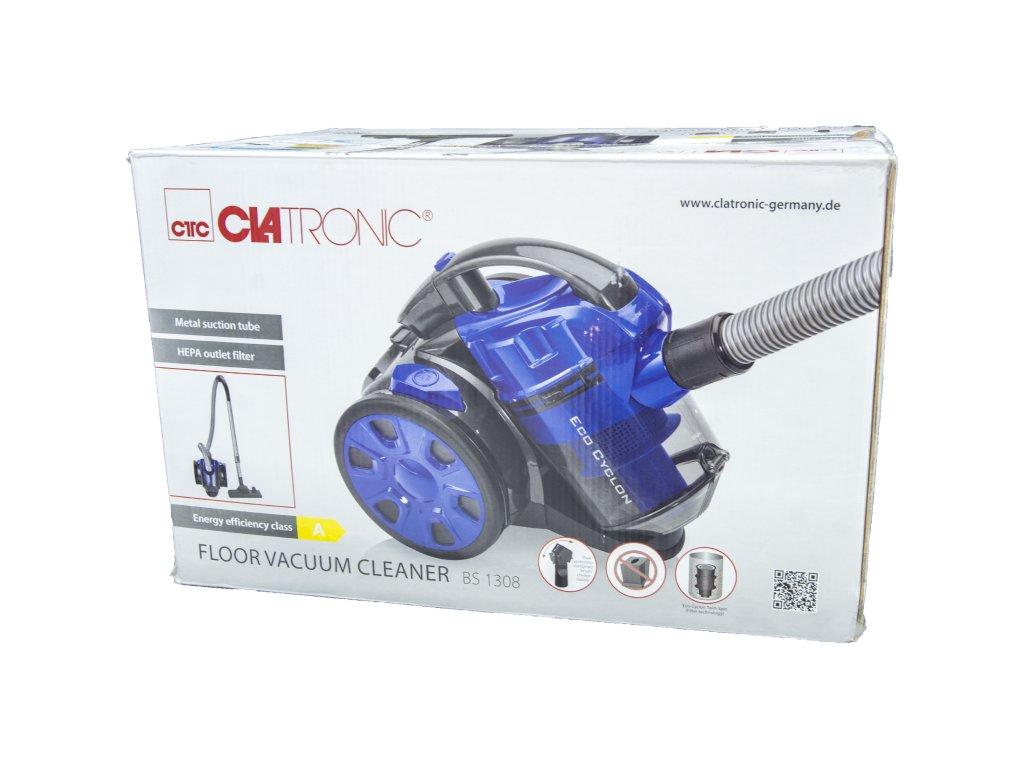 Bezsáčkový vysavač Clatronic BS 1308 modrý