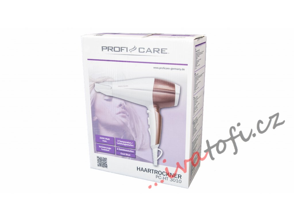 Vysoušeč vlasů ProfiCare HT 3010 šampaň