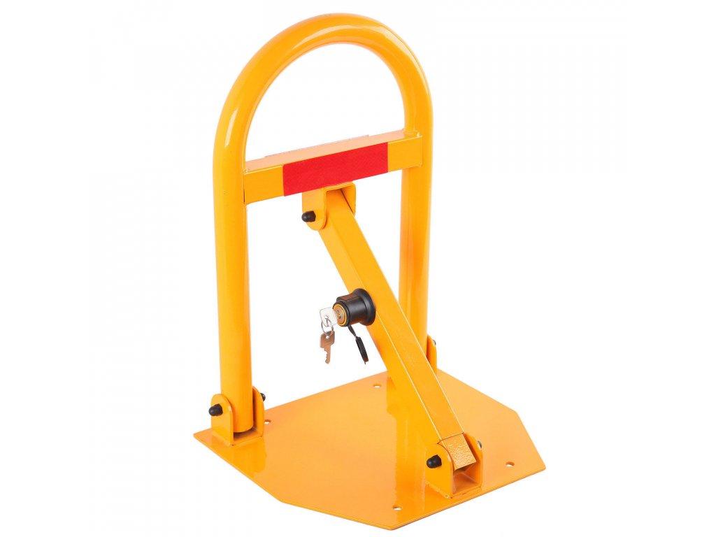 Skládací parkovací zábrana s klíčem 50 cm SN1805
