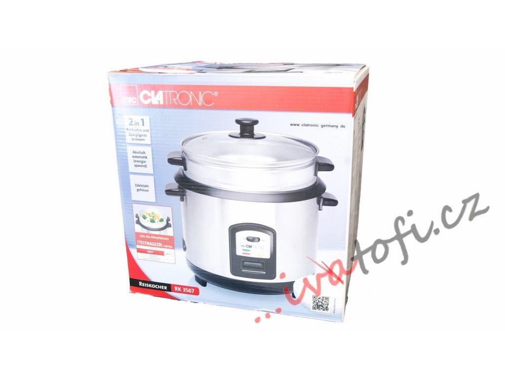 Rýžovar a parní hrnec Clatronic RK 3567