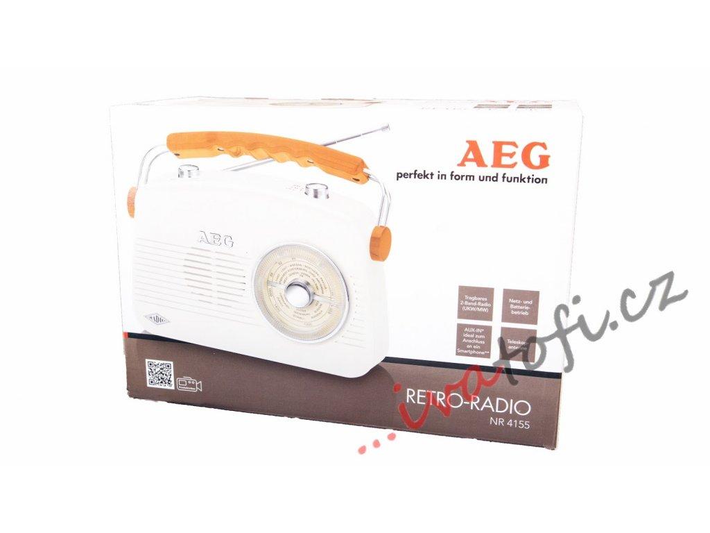Retro rádio AEG NR 4155
