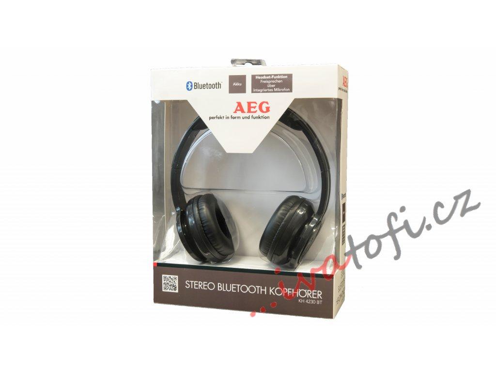 Stereo bluethooth sluchátka AEG KH 4230