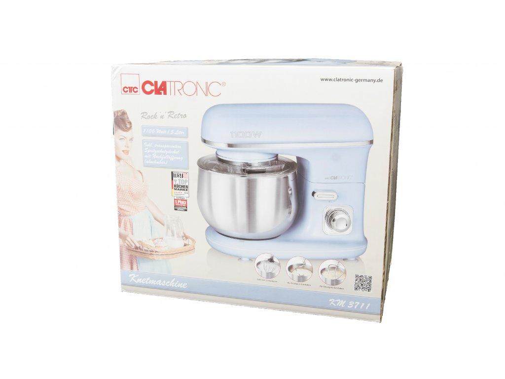Kuchyňský robot hnětač Clatronic KM 3711 1100 W modrý
