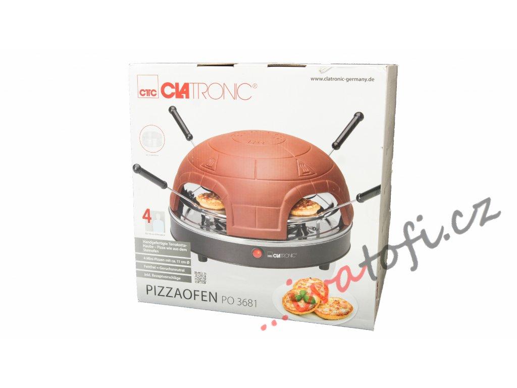 Pec na pizzu Clatronic PO 3681