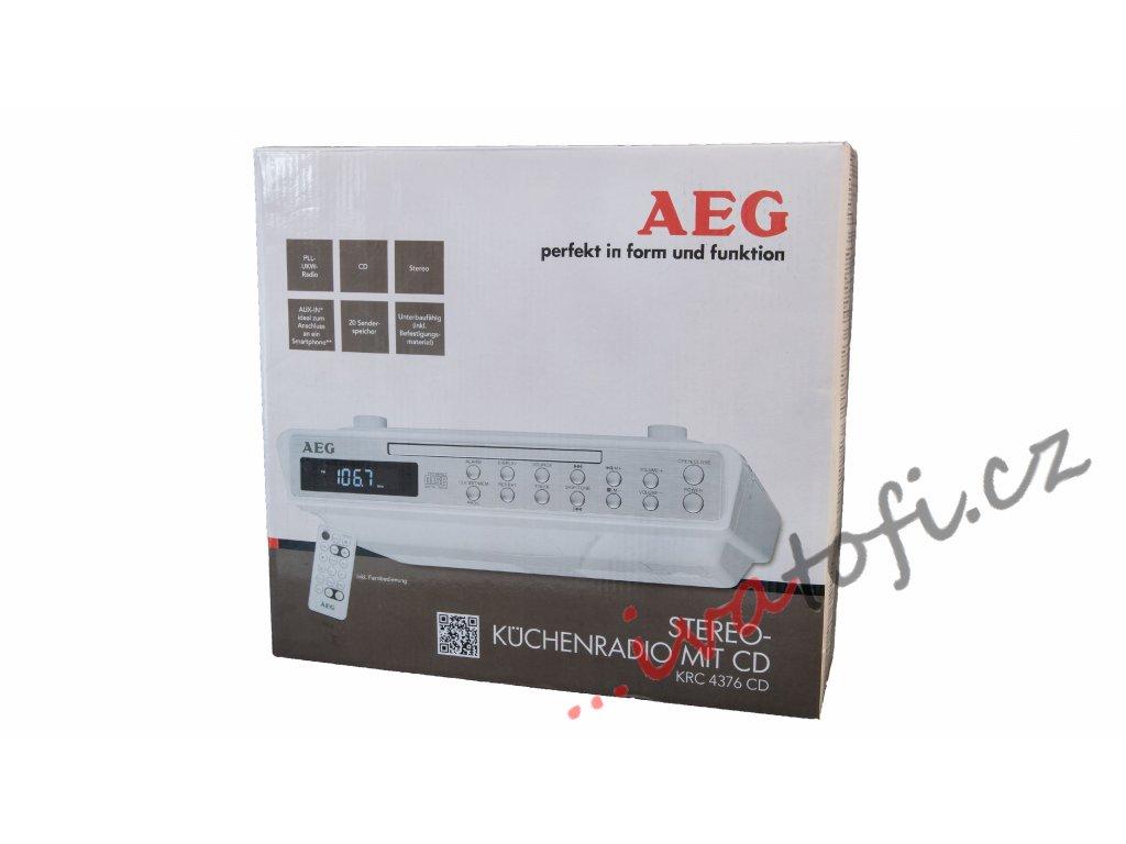 Kuchyňský radiopřijímač s CD AEG KRC 4376