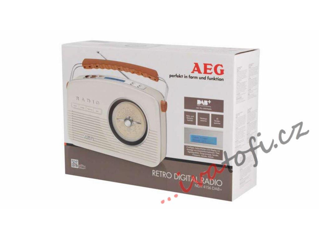 Retro digital radio AEG NDR 4156 DAB+