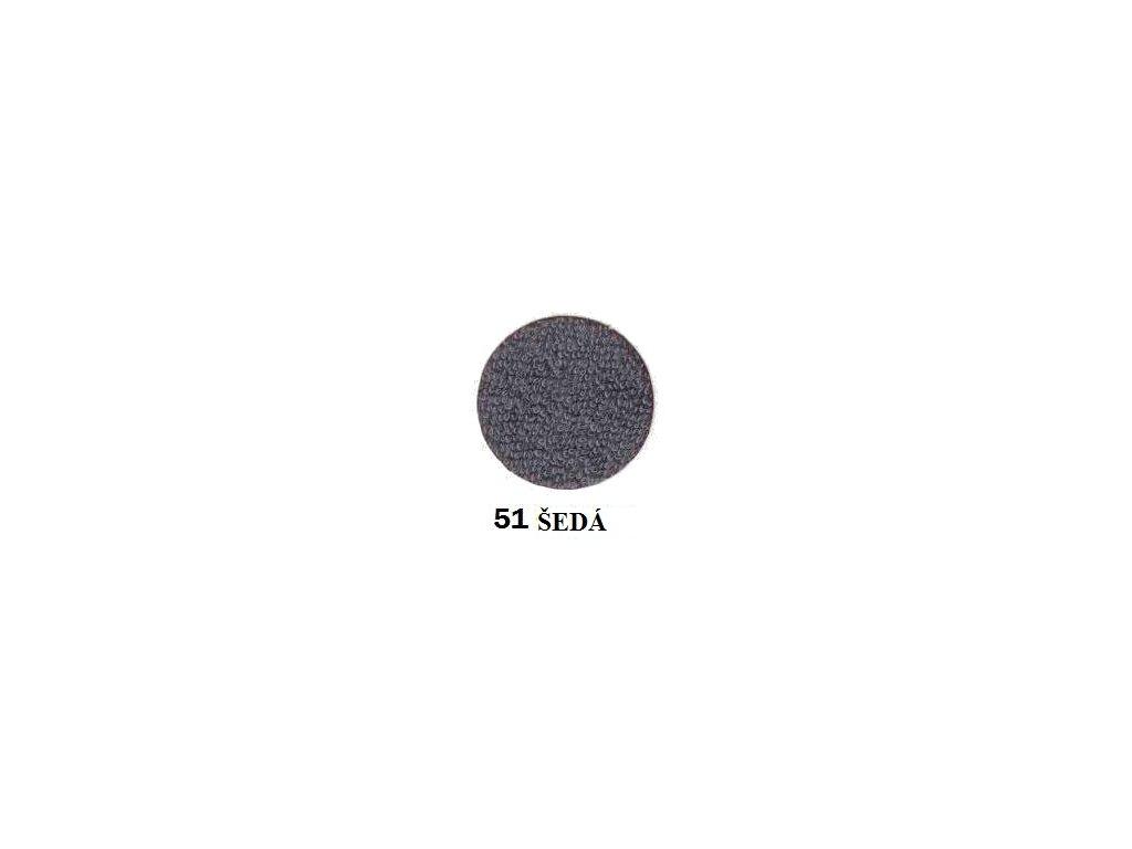 Froté prostěradlo 160/200 cm barva tmavě šedá