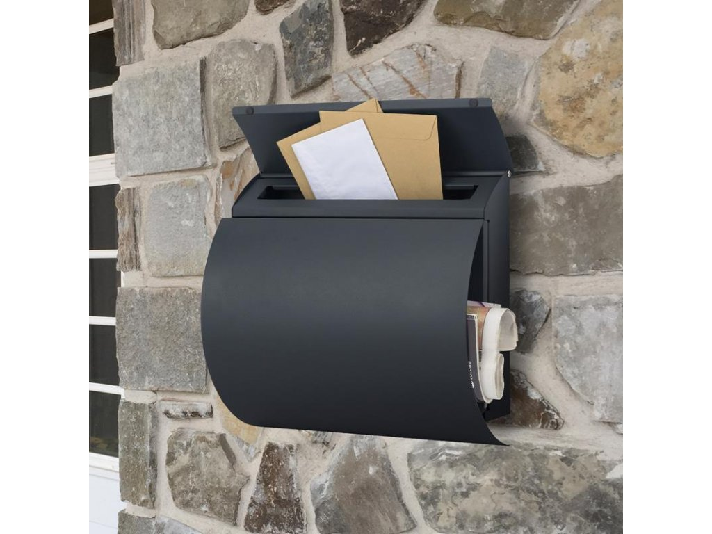 Poštovní schránka SN 3652 černá