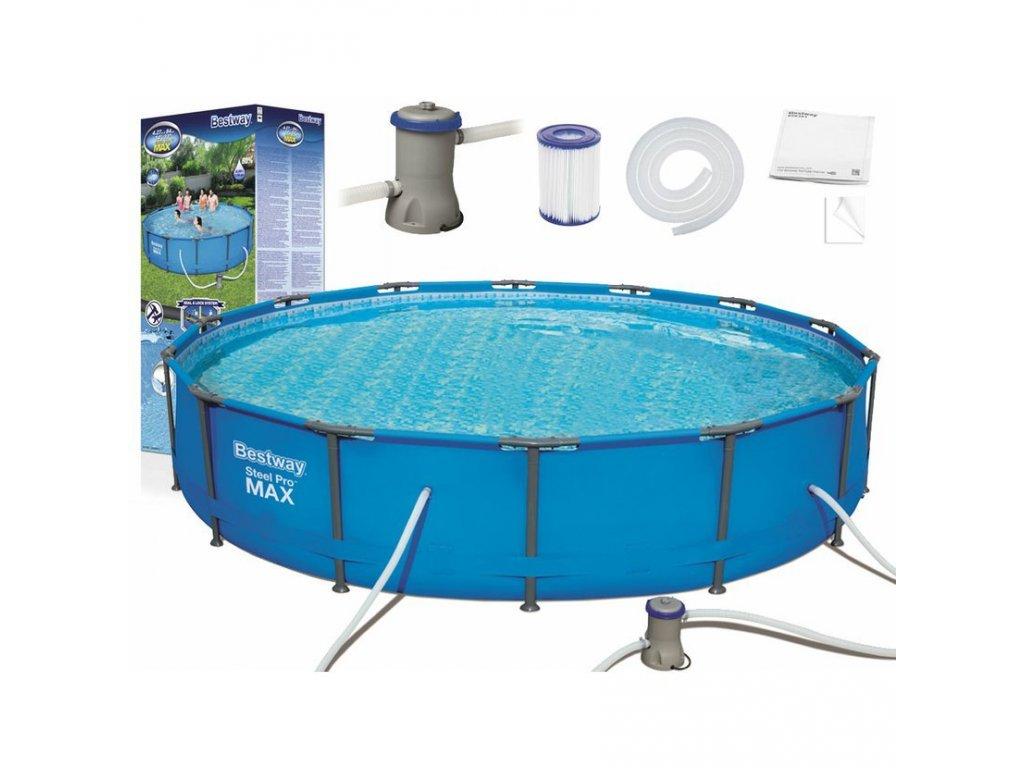 Bazén Bestway Steel Pro Max 427 x 84 cm 56595