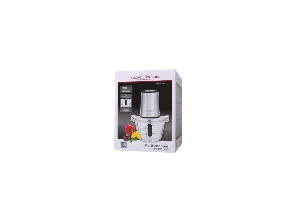 Multifunkční mixér sekáček Profi cook PC-MZ 1150