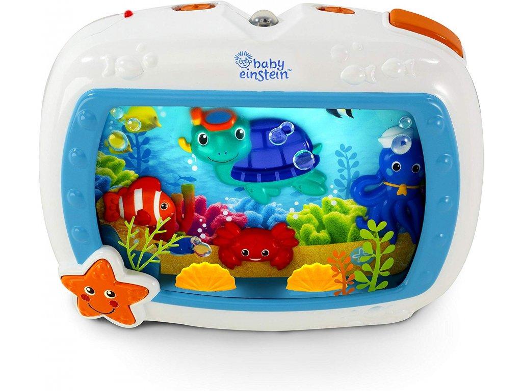Baby Einstein Sea Dreams hudební jesličková hračka a zvukový stroj