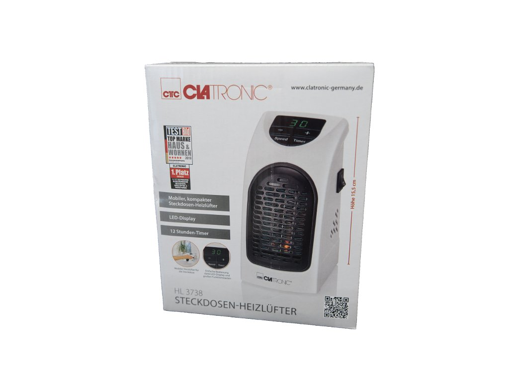Horkovzdušný ventilátor Clatronic HL 3738