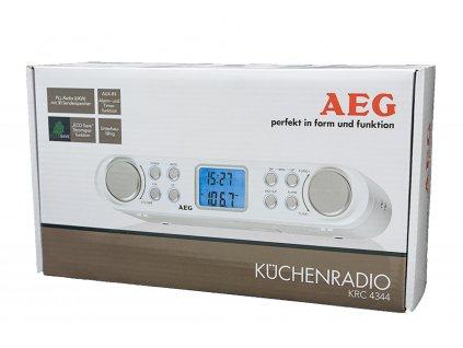 Kuchyňské rádio AEG KRC 4344