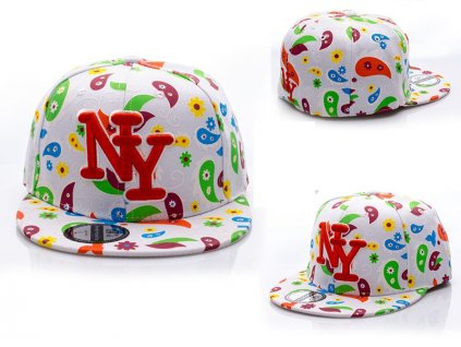 Skate kšiltovka čepka barevná NY BARCLEYS AMERICAN CAP