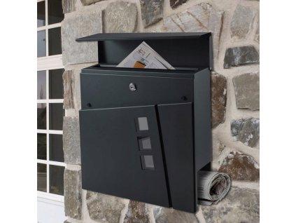 Poštovní schránka antracit SN 3681