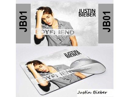 Podložka pod myš Justin Bieber 1