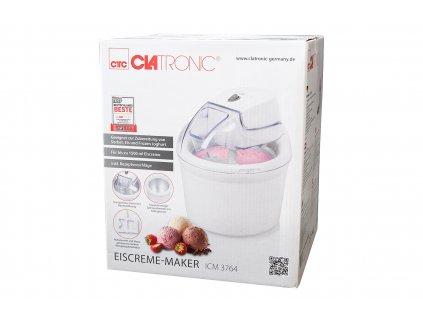 Výrobník zmrzliny Clatronic ICM 3764