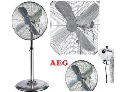 Stojanový ventilátor AEG VL 5527 M nerez
