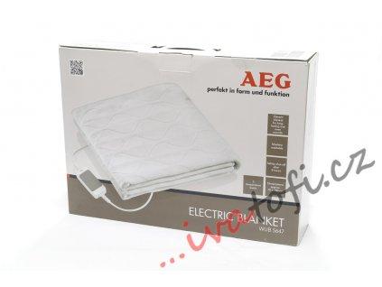 Vyhřívací deka AEG WUB 5647