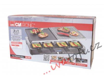 Elektrický raclette gril Clatronic RG 3518
