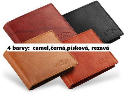 Pánská kožená peněženka BAG STREET Colelection