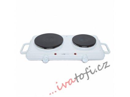 Dvouplotýnkový vařič Clatronic DKP 3583