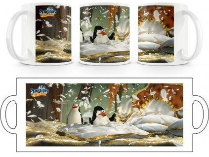 Hrnek hrníček Tučňáci Madagaskar 5