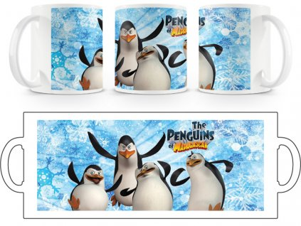 Hrnek hrníček Tučňáci Madagaskar 1