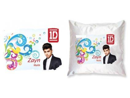 Polštář plus povlak 1D One Direction Zayn